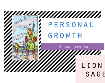Tarot: Personal Growth (Same Day- Fast)