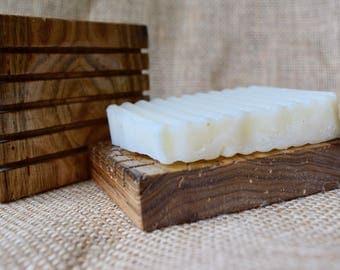 Butternut Wood Soap Dish