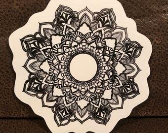 Mandala Sticker - 4x4