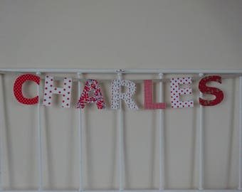 Garland name 7 letters Charles