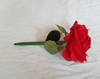 Ruby Red Rose Pen, Pretty Pen
