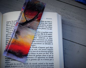 Bookmark 15 cm - blank back - individually (5 designs available and other options)