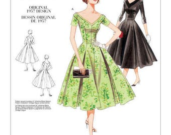 By Vogue V2903 retro vintage sewing pattern