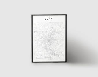 Jena Map Print