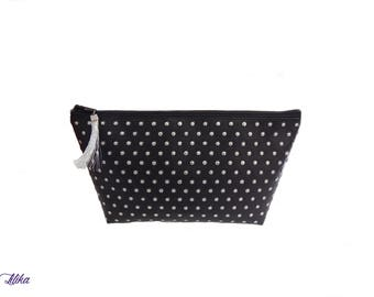 Cosmetic bag - studded
