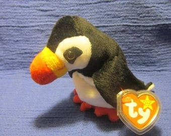 Puffer the puffin TY beanie baby