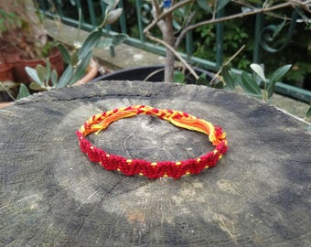 Red Friendship Bracelet