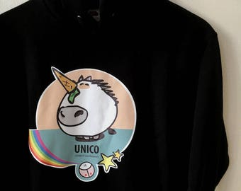 Hoodie ONLY the Unicorn by the Roofs ®.
