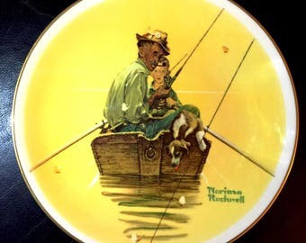 Norman Rockwell Plate SUMMER | Limited Edition 1976 Gorham