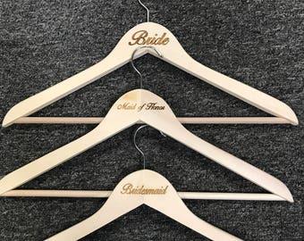 Wooden Wedding Hangers