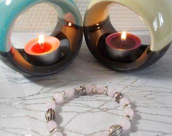 "Bracelet natural stone ""Rose Quartz"" (introductory offer)"