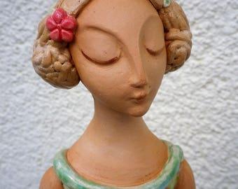 Ceramic sculpture, Garden sculpture, Gartenfugur