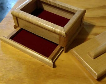 Hidden drawer box