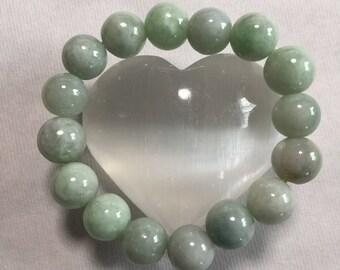 Chinese Jade Bracelet,  13mm