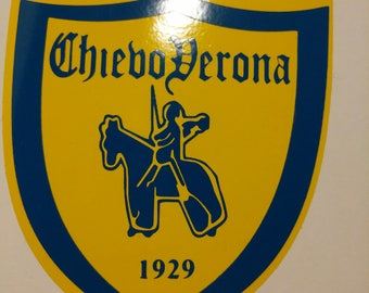 Chievo Verona logo vinyl sticker