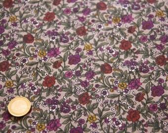 coupon fabric patchwork 25 X 25 cm / liberty
