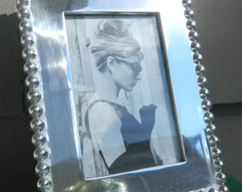 Mariposa silver picture frame