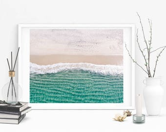 Beach Print Mar Menor  Photo Wall Art Print for Scandinavian Decor Modern Minimalist Poster Print-FRAMED&MOUNTED
