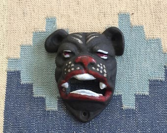 Vintage Cast Iron Dog Bottle Opener