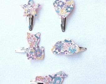 liberty daughter Michelle lilac hair clips