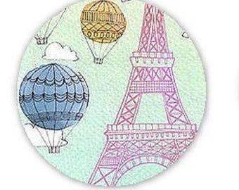 pretty cabochon 25mm, eiffel tower, Paris