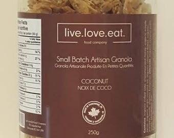 Small Batch Artisan Granola - Coconut