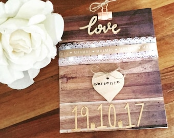 Honeymoon gift card; wedding gift card; honeymoon money pouch; honeymoon gift card
