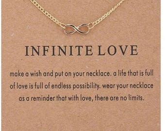 """Necklaces for women """" Infite Love """""""