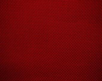 canvas aida 5.5 / cm 40 x 50 cm red 36 Luc