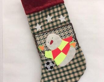 Soccer Goalie Christmas Stocking