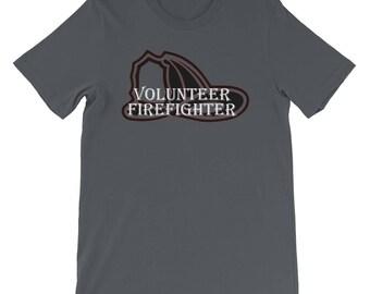 Volunteer Firefighter Firefighting Short-Sleeve Unisex T-Shirt