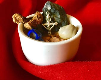Protective Bowl-protection bowl-witchcraft, evil eye, against enemies...