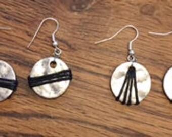 "Series ""Amazon"" earrings"