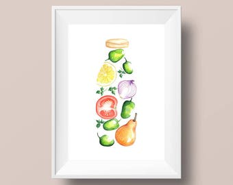 Juice Bottle recipe-A4
