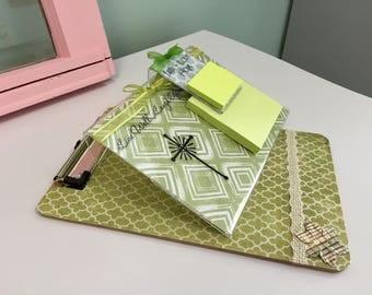 Clipboard Notepad Gift Set
