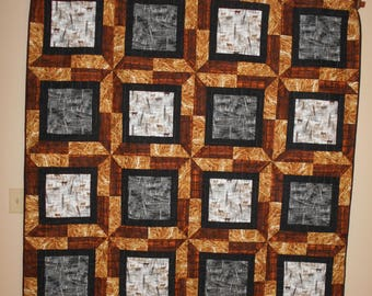 Western theme handmade quilt