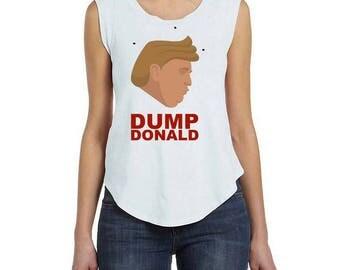 Dump Donald tank top Woman (red)