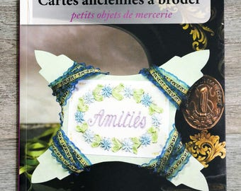 NEW - Book antique embroidery