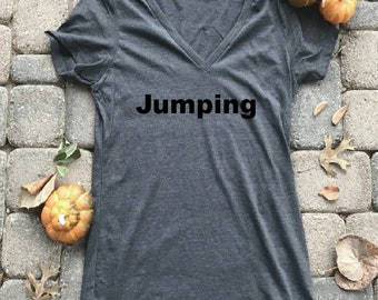 Jumping shirt, Horse shirts for her, birthday gifts for her, horse gift for girls, equestrian shirt, barn tshirts, horse jumping shirt