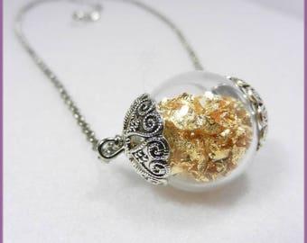 "Necklace ""Golden dream"""