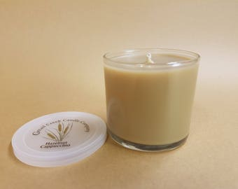 Hazelnut Cappuccino Candle - 8 and 5 oz. Jar- hand poured