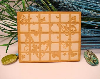 Butterfly 02045 embellishment wooden creations