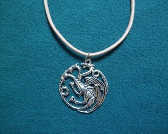 "Necklace ""dragons from Game of Thrones."