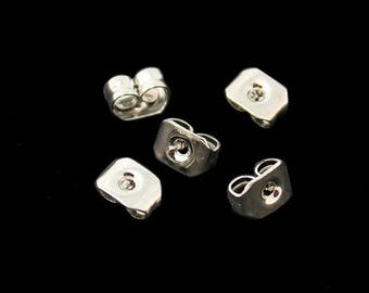 Caps/clasps for silver Stud Earrings