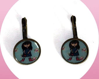 Lever back earrings