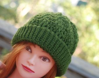 Stepping texture hat, winter hat, acrylic hat, crochet hat