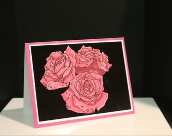 Roses Digital Stamp Set