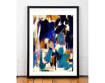 Abstract A4 Giclee Print