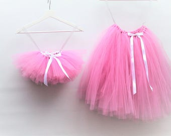 Elegant tulle skirt/ flower girls/mum and daughter/ bridesmaids/wedding/Photo shoot/birthday/party.