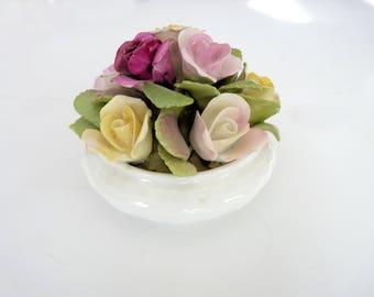Coalport China Roses in Bowl